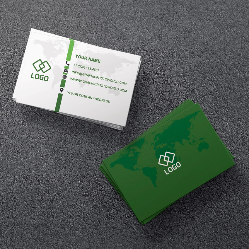 traveling business card